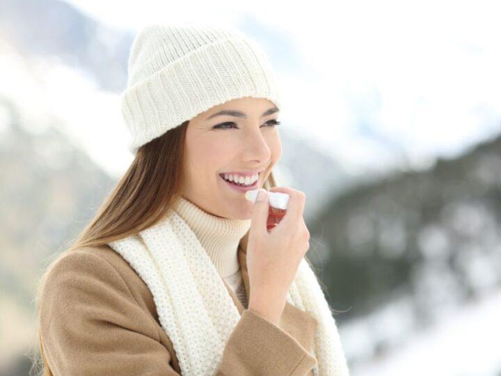Protege tus labios del frío